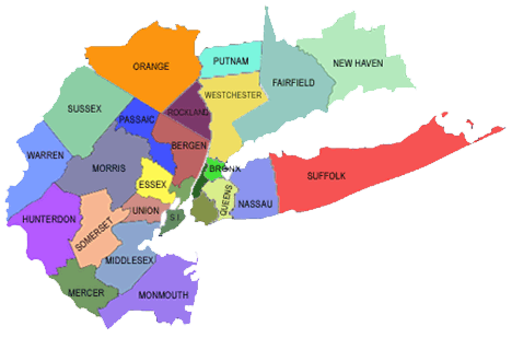 Map Of New York New Jersey And Connecticut.On Site Mobile Used Car Inspections In Ny Nj And Ct